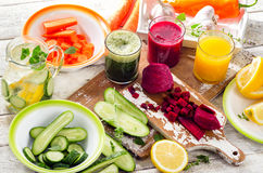 detox Comer saudável Fotografia de Stock Royalty Free