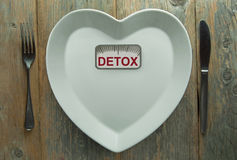 Detox concept Royalty Free Stock Photography