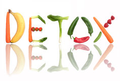 Detox concept Royalty Free Stock Images