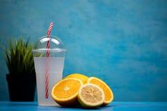 Detox diet fresh breakfast Royalty Free Stock Photos