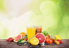 Detox. Diet plant mandarin cold ripe soft stock photo