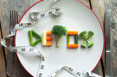 Detox diet royalty free stock photos