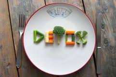 Detox dieta obrazy royalty free