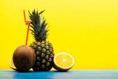 Detox domowej roboty diety mieszane owoc fotografia royalty free