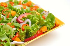 Detox food with veggie, raw salad Royalty Free Stock Photography