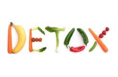 Detox pojęcie Fotografia Stock