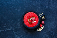 Detox smoothie bowl Stock Images