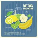 Detox smoothie. Royalty Free Stock Photo