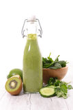 Detox vegetable smoothie Royalty Free Stock Photo