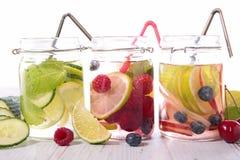 Detox water Stock Photos
