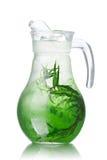 Detox water with tarragon Stock Photo