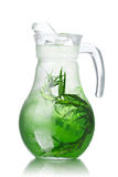 Detox water with tarragon Stock Images