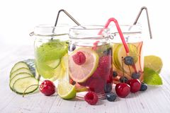 Detox water Royalty Free Stock Images