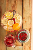 Detox waters Stock Photography