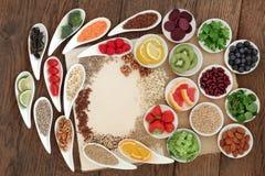 Detoxen bantar mat Arkivfoto