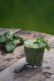 Detoxifying green drink Stock Photos