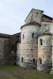Detrás de la abadía romana Imagen de archivo