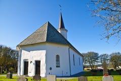 Detrás de la iglesia de Rokke Imágenes de archivo libres de regalías