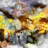 Detrás de la máscara libre illustration
