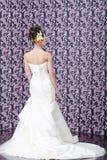 Detrás de la novia Imagen de archivo libre de regalías