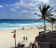 Detrás de la playa Foto de archivo libre de regalías