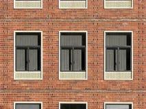 Detrás de la ventana número tres. Fotos de archivo
