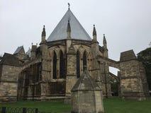 Detrás de Lincoln Cathedral - probablemente una pequeña capilla fotografía de archivo libre de regalías