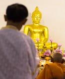 Detrás de los mayores Buda Imágenes de archivo libres de regalías
