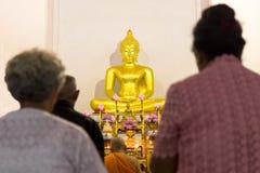 Detrás de los mayores Buda Fotografía de archivo libre de regalías