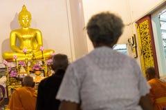 Detrás de los mayores Buda Fotos de archivo libres de regalías