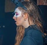 Detrás de los muertos en Halloween Imágenes de archivo libres de regalías