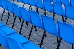 Detrás de sillas Foto de archivo libre de regalías