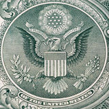 Un detalle del dólar Fotografía de archivo