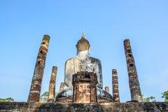 Detrás del Buda fotografía de archivo libre de regalías