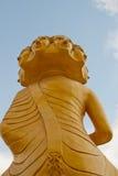 Detrás del Buddha Foto de archivo