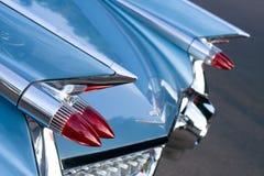Detrás del coche de la vendimia Foto de archivo libre de regalías