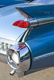 Detrás del coche de la vendimia Fotografía de archivo