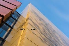Detrás del edificio nacional del foro de la música en Wroclaw Fotografía de archivo