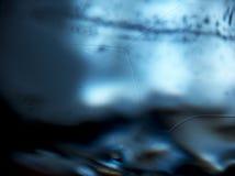 Detrás del hielo Imagen de archivo