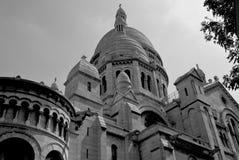 Detrás del theSacre Coeur Imagenes de archivo