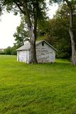Detrás en el granero Imagen de archivo