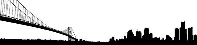 detroit Мичиган Стоковые Фотографии RF