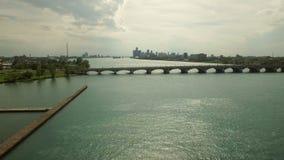 Detroit Aerial stock video