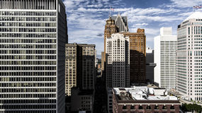 Detroit. Aerial View of Detroit Royalty Free Stock Photo