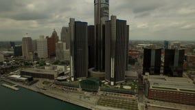 Detroit antenn stock video