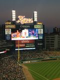 Detroit Baseball game royalty free stock photos