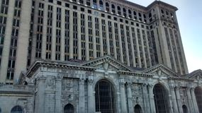 Detroit Central Train Station Stock Photo