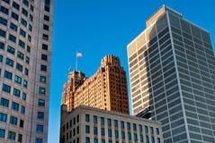 Detroit Classic Buildings Stock Image