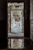 Detroit Correction House. An abandoned prison near Detroit, Michigan Royalty Free Stock Photography