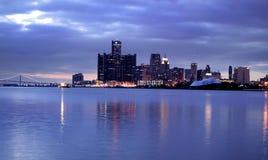 Detroit da baixa Foto de Stock